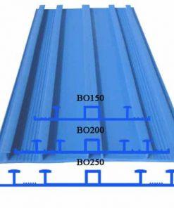 Các kích thước cơ bản băng cản nước PVC BO