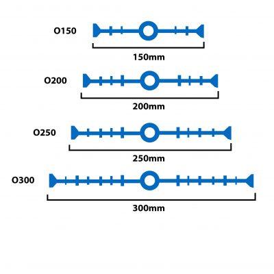 PVC Waterstop mẫu O