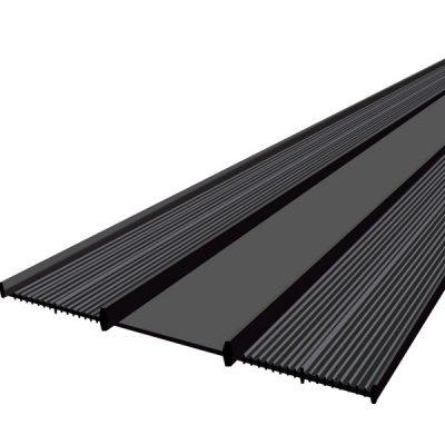 Băng cản nước PVC loại V màu đen