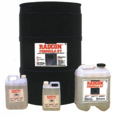 Quy cách đóng gói radcon gồm phuy 200 và can nhỏ