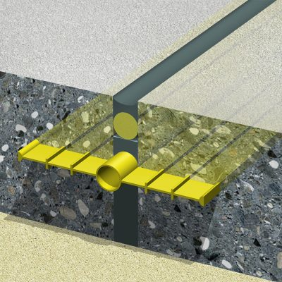 Mô hình thi công băng cản nước PVC loại O