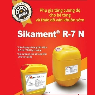 Thông báo sản phẩm Sikament R7 N