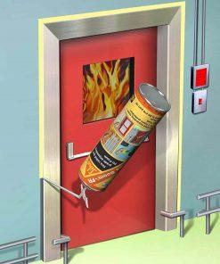 Ứng dụng foam chống cháy lan