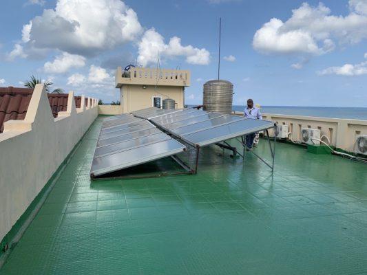 Ứng dụng thi công sàn mái bằng Neomax 201
