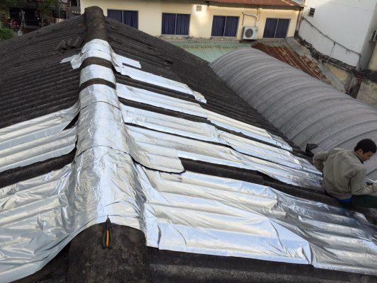 Cải tạo chống thấm cho mái tôn