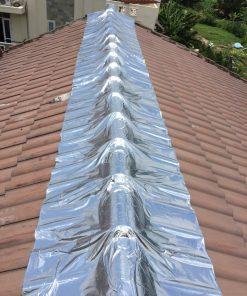 Thi công chống thấm mái tôn bằng màng Kukdong