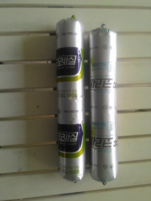 Silicone KCC Sl100 được đóng gói 500ml/tuýp