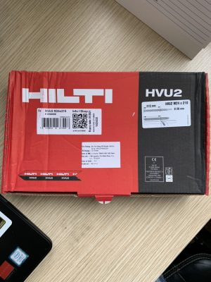 Bao bì sản phẩm Hilti HVU M24