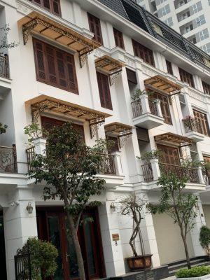 Tấm lợp thông minh màu trà dự án liền kề 90 Nguyễn Tuân- Hà Nội