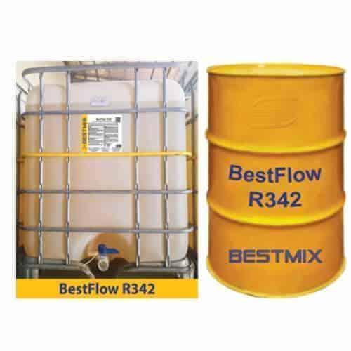Bestflow R342 Phụ Gia Siêu Dẻo Tầm Trung, Duy Trì độ Sụt Lâu Dài