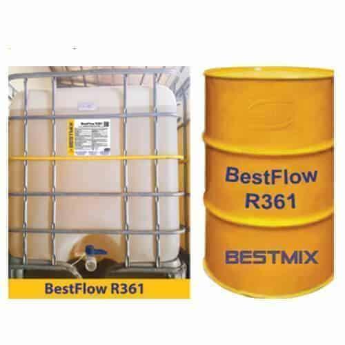 Bestflow R361 Phụ Gia Siêu Hóa Dẻo Tầm Cao, Duy Trì độ Sụt Lâu Dài